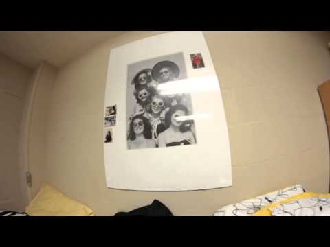 My dorm room in Menlo college
