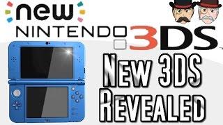 NEW NINTENDO 3DS Revealed, Trailer & Full Details!