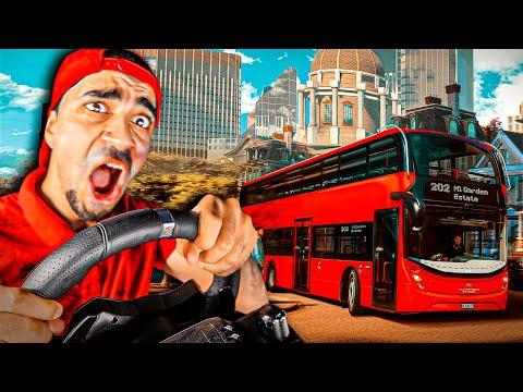 محاكي الباصات : سافرت امريكا - و تعلمت السياقة 😍😍 - Bus Simulator 21  