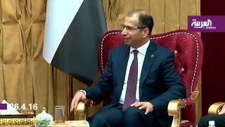 جلسة  في البرلمان العراقي للتصويت على حكومة العبادي والاحتجاجات مستمرة