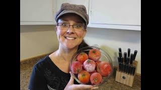 Processing Whole Frozen Tomatoes.  Yes, It Can Be Done!