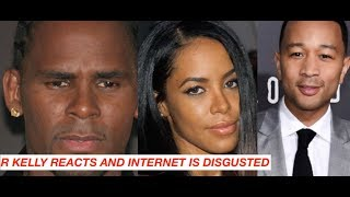 R Kelly REACTS to Docuseries and is UNHAPPY INTERNET REACTS in Disgust