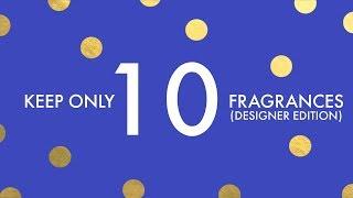 KEEP ONLY 10 FRAGRANCES FOR LIFE (DESIGNER EDITION) TAG