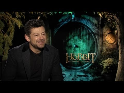 The Hobbit: An Unexpected Journey - Andy Serkis Interview HD