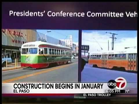El Paso trolleys expected to be operational in 2018