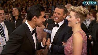 Scarlett Johansson Talks New Hair, Future Projects & Worst Audition on Oscars Red Carpet