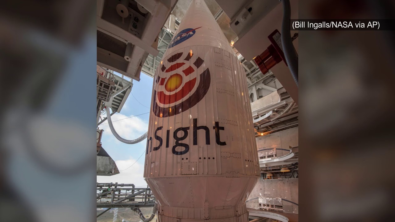 NASA successfully sends InSight lander on its way to Mars