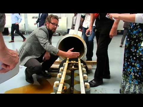 Rosch KPP / GAIA AuKW 5kW power plant generator disassembly, May 13th '15 Raw Footage