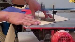 Clock - Using Hegner Saw To Cut Plywood.mp4