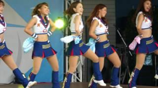 hirune5656 #20170802 #M☆splash!! #kawaii #cheerleader #千葉ロッテマ...