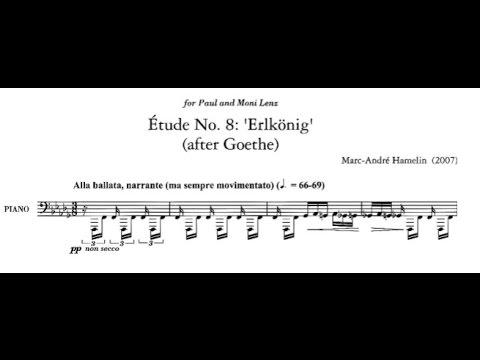 Marc-André Hamelin - Étude No. 8 in B-flat minor 'Erlkönig, after Goethe'