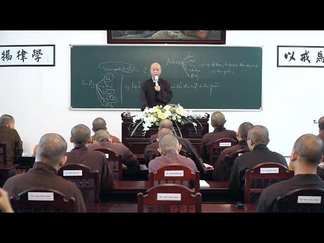 GIỚI LUẬT PHẬT GIÁO BÀI 17 - VẤN ĐÁP: KINH ĐIỂN ĐẠI THỪA CÓ PHẢI ĐỨC BỔN SƯ THÍCH CA MÂU NI THUYẾT?