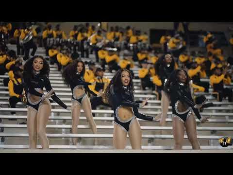 Alabama State Sensational Stingettes Highlights (2021)   vs Southern [4K]