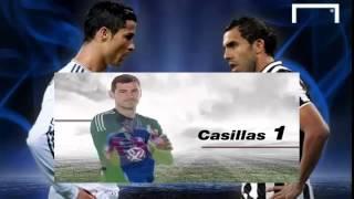 أهداف مباراة ريال مدريد ويوفنتوس اليوم في دوري أبطال أوروبا : ملخص مباراة ريال مدريد ويوفنتوس 1-1