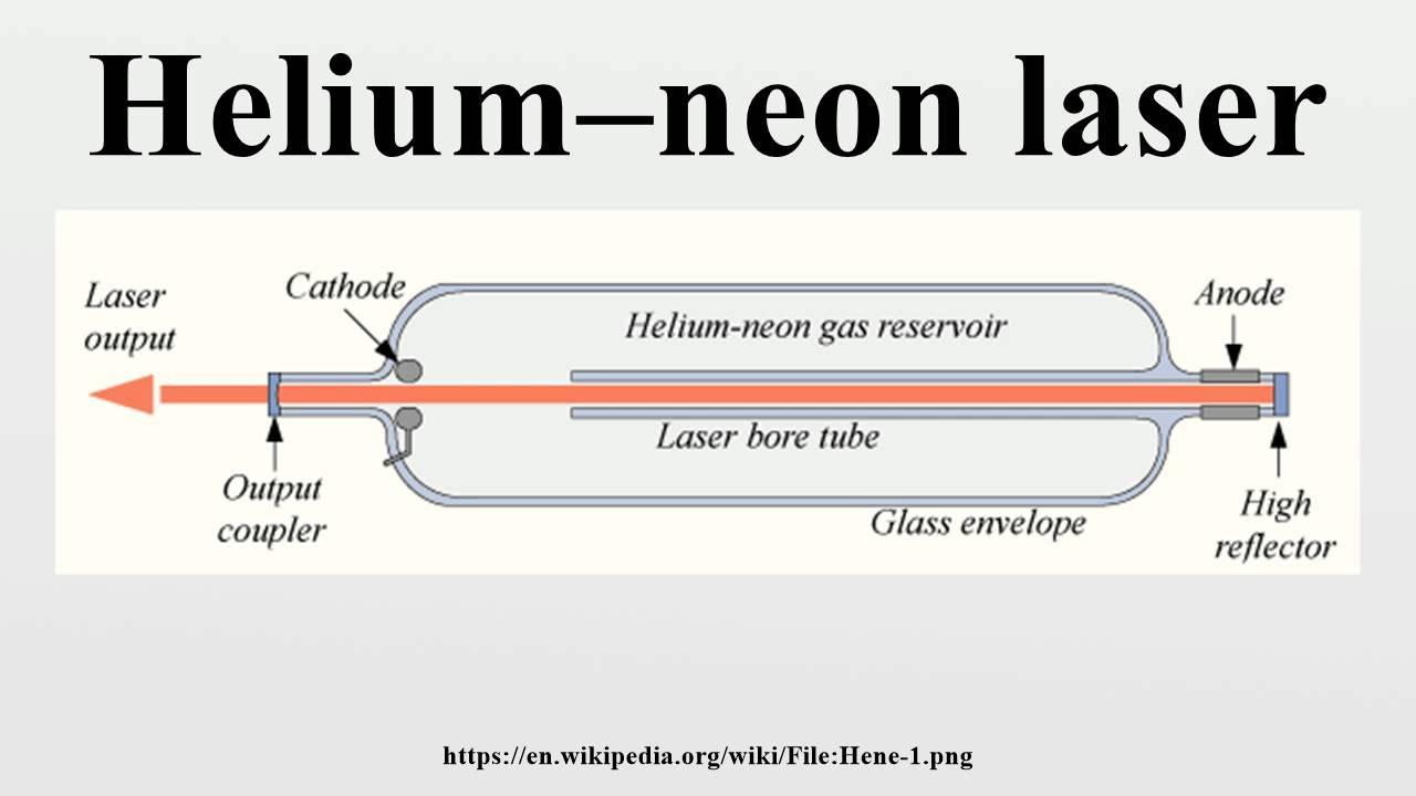 Helium–neon laser - YouTube