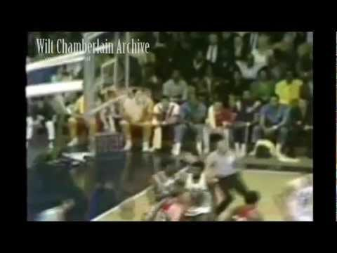 John Havlicek dishes to Bill Russell for a jam 1969 ASG - Multiple camera angles!