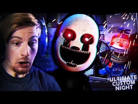 THESE ANIMATRONICS CAN'T STOP ME!! (40/20 Mode WIN) || FNAF: Ultimate Custom Night thumbnail
