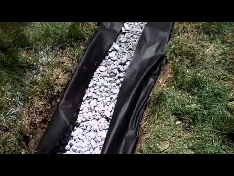 draining-excess-water-from-a-lawn