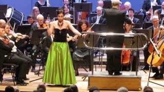 Agneta Eichenholz. 13. dags koncert Helsingborg 6. januar 2014