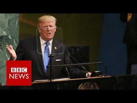 Trump: Rocket man is on a suicide mission  BBC
