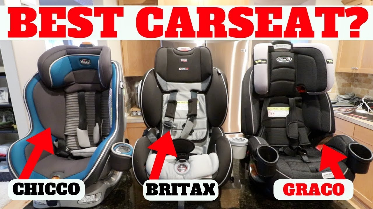 BEST CAR SEAT After Using 1 Year CHICCO Vs BRITAX Vs GRACO