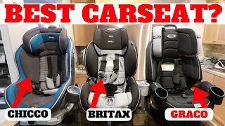 BEST CAR SEAT After Using 1 Year! CHICCO vs BRITAX vs GRACO!