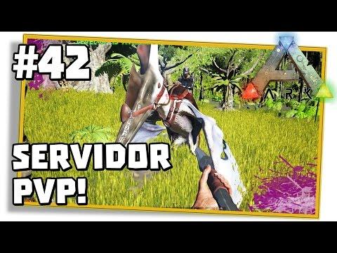 ARK Survival Evolved PVP 42: NOVO SERVIDOR TUDO RÁPIDO