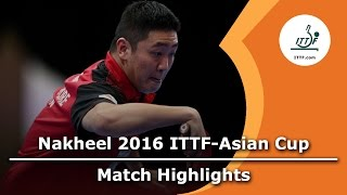 2016 Asian Cup Highlights: Xu Xin vs Gao Ning (1/2)(Review all the highlights from the 2016 Asian Cup Highlights: Xu Xin vs Gao Ning (1/2) Match from the 2016 Asian Cup Subscribe here for more official Table ..., 2016-04-30T15:20:14.000Z)