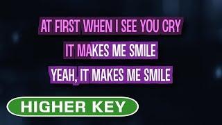 Smile (Karaoke Higher Key) - Lily Allen