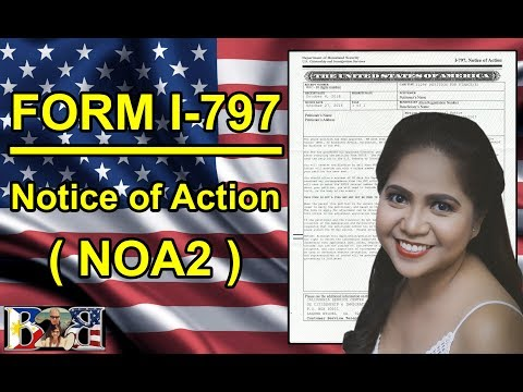FORM I-797 Notice of Action (NOA2) | APPROVAL NOTICE | K1 VISA | 2ND LETTER