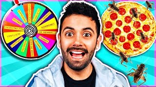MISTERY WHEEL PIZZA CHALLENGE 🤮