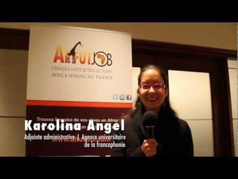 l'AUF au lancement du salon Afrique Plein Emploi | 2011