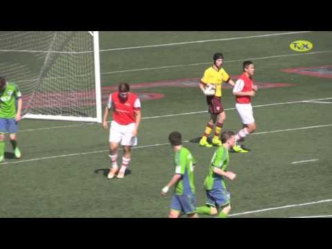 Arsenal FC US Academy U16 vs Sounders Academy U16 (2014)