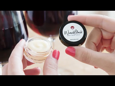 WineBlock | Anti-Stain Treatment for Lips and Teeth