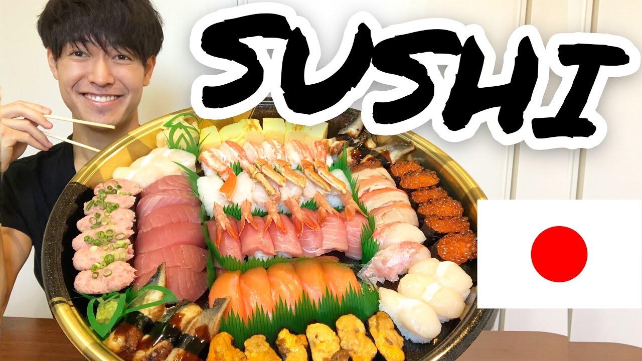 Japanese guy eats Sushi and teaches you How to use Chopsticks correctly