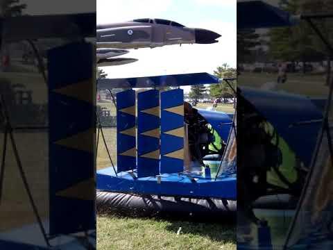 A Hovercraft at Bethalto, Illinois car show.