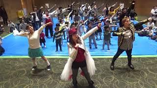 幡野智宏くんとSister MAYOさんとメディアシップ春航祭でケボーンダンス!!