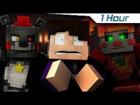 "[1 Hour] ""Labyrinth"" | FNAF 6 (Animated Minecraft Music Video)"