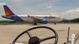 Allegiant Air Flight 643 Pushback (A320)
