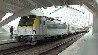 New Siemens Vectron locomotives in Liège, Belgium [14.04.12]