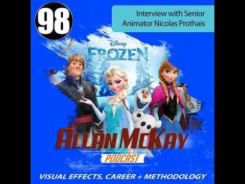 098 - Interview with Senior CG Animator Nicolas Prothais