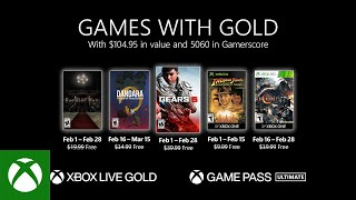 Xbox - February 2021 Games with Gold
