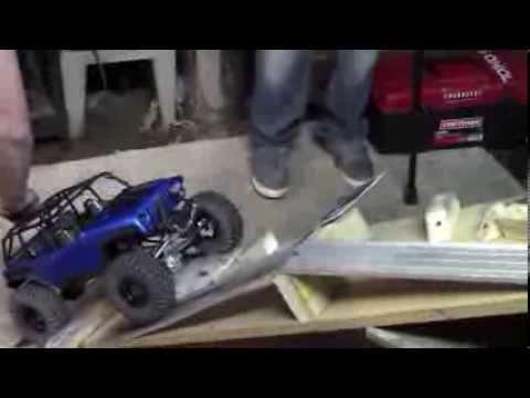 MN RC Snow Crawl Series Event #2, Feb 2014 (Video 1 of 2)