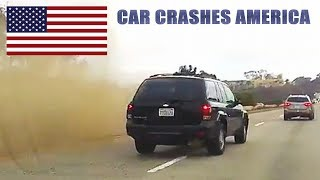 CAR CRASHES IN AMERICA #21 | BAD DRIVERS USA, CANADA | NORTH AMERICAN DRIVING FAILS