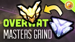 MASTERS GRIND! - Overwatch Competitive Gameplay