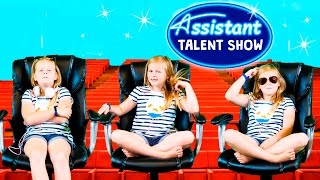 ASSISTANT Talent Show Goofy + Donald Duck Have a Funny Talent Show Video