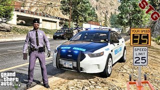 GTA 5 MODS LSPDFR 0.4.4 #22 - VIRGINIA STATE TROOPERS PATROL!!! (GTA 5 REAL LIFE PC MOD)