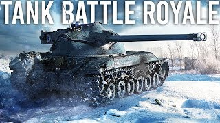 World of Tanks Battle Royale Gameplay + First Impressions