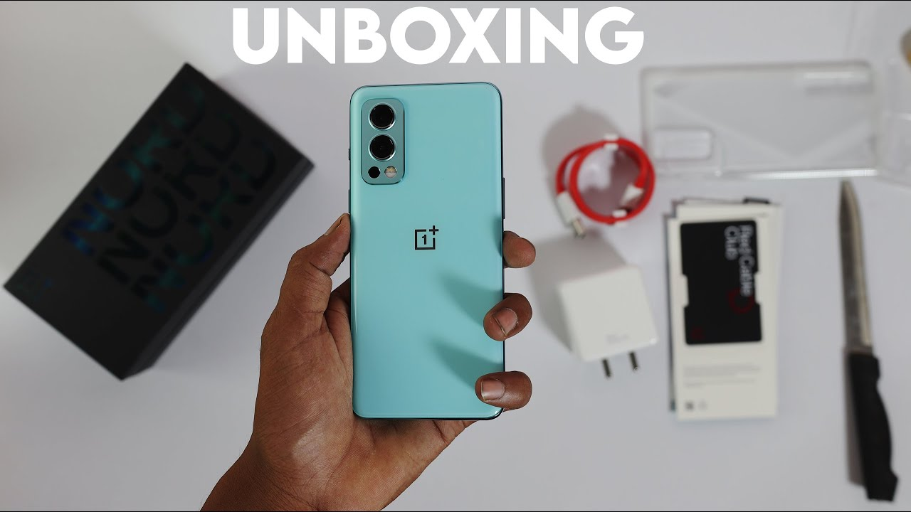 OnePlus Nord 2 5G Unboxing, Clean UI, Stock Android Like Fill, Camera Nord 2 vs Pixel 4a Comparison