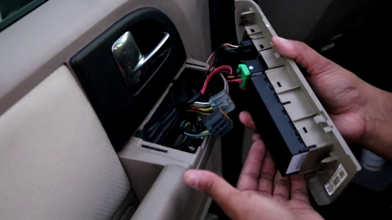 2003 ford expedition power window switch replacement  [ 1280 x 720 Pixel ]